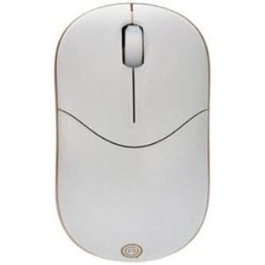 UNIQ IM335GGD ワイヤレス光学式マウス 2.4GHz USB・Win/Mac エントリータイプ (3ボタン・ゴールド)
