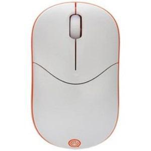 UNIQ IM335GOR ワイヤレス光学式マウス 2.4GHz USB・Win/Mac エントリータイプ (3ボタン・オレンジ)