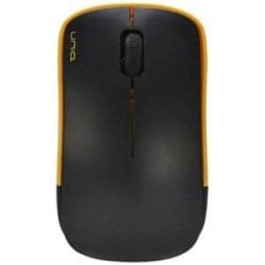 UNIQ IM367GYE ワイヤレス光学式マウス 2.4GHz USB・Win/Mac 静音 The Silent Mouse IM367G (3ボタン・イエロー)