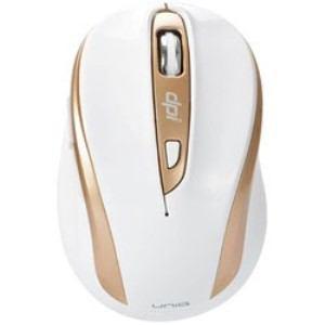 UNIQ IM612GWH ワイヤレス光学式マウス 2.4GHz USB・Win/Mac 静音 The Silent Mouse IM612G (6ボタン・ホワイト)