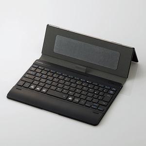 エレコム TK-CAP02BK タブレットケース付きワイヤレスBluetooth(R)キーボード ブラック