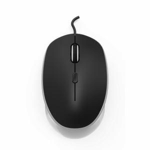 HerbRelax YYM12F1-W 有線マウス ホワイト