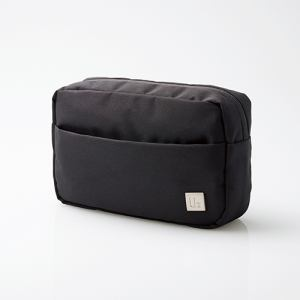 エレコム BMA-UBGP01BK スタンダードキャリングバッグ「UB」(ガジェットポーチ) ブラック