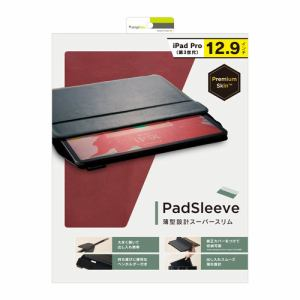 トリニティ iPad Pro 12.9インチ 第3世代PadSleeveケース ワインレッド TR-IPD18L-PS-NWR