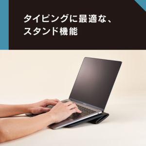 トリニティ MacBook Air Retina/Pro 13インチBookSleeveケース メッシュブラック TR-MB1813-BS-MBK