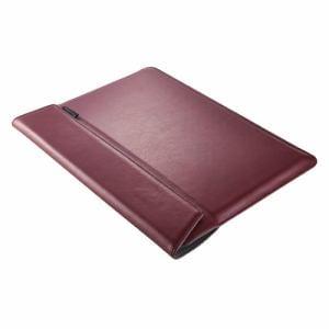 トリニティ MacBook Air Retina/Pro 13インチBookSleeve薄型ケース ワインレッド TR-MB1813-BS-NWR
