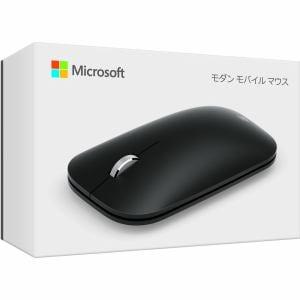 マイクロソフト Modern Mobile Mouse Black/型番:KTF-00007/軽量で持ち運びやすいデザイン