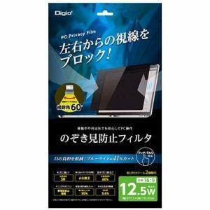 ナカバヤシ SF-FLGPV125W 12.5インチワイド用 のぞき見防止 保護フィルム