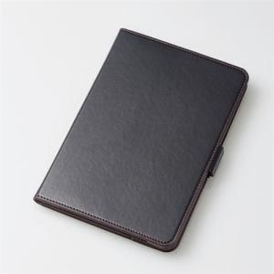 エレコム TB-A19S360BK iPad Sサイズ 2019年モデル/iPad mini 4用フラップカバー/ソフトレザー/360度回転 ブラック
