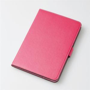 エレコム TB-A19S360PN iPad Sサイズ 2019年モデル/iPad mini 4用フラップカバー/ソフトレザー/360度回転 ピンク