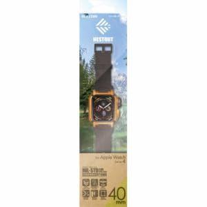 エレコム AW-40BCNESTDR Apple Watch用バンドケース(series 4/40mm)オレンジ