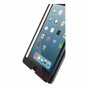 エレコム TB-A19SFLGFBK iPad mini 2019年モデル用ガラスフィルム 0.33mm フレーム付 ブラック