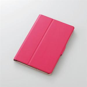 エレコム TB-A19SWVFUPN iPad mini 2019年モデル/iPad mini 4用フラップカバー ソフトレザー 2アングル 薄型 ピンク