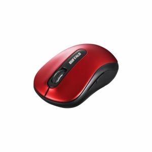 バッファロー BSMBW310RD BlueLEDセンサー搭載無線5ボタンマウス レッド