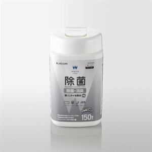 エレコム WC-AG150N 除菌ウェットクリーニングティッシュ 150枚