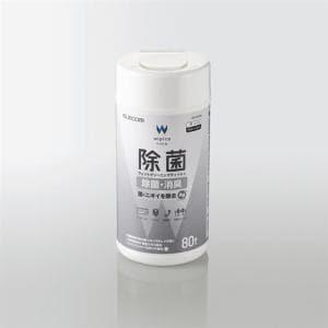 エレコム WC-AG80N 除菌ウェットクリーニングティッシュ 80枚