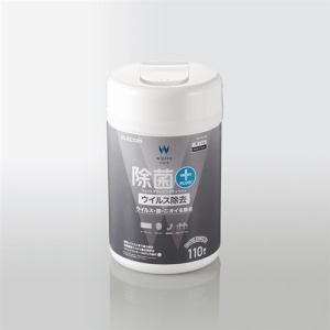 エレコム WC-VR110N 除菌_ウイルス除去ウェットクリーニングティッシュ 110枚