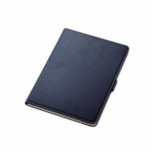 エレコム TB-A19R360NV iPad 10.2 2019年モデル/フラップケース/ソフトレザー/360度回転/ネイビー   NV