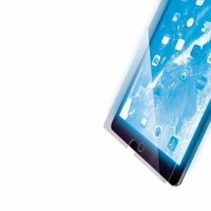 エレコム TB-A19RFLGGBL iPad 10.2 2019年モデル/保護フィルム/リアルガラス/0.33mm/ブルーライトカット   SSS