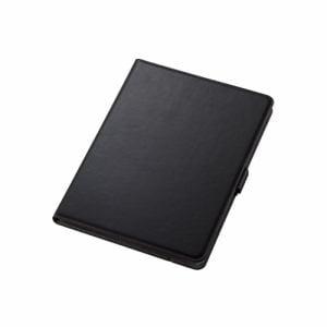 エレコム TB-A19R360BK iPad 10.2 2019年モデル/フラップケース/ソフトレザー/360度回転/ブラック   BK
