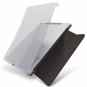 エレコム TB-A19RUCCR iPad 10.2 2019年モデル/ソフトケース/スマートケース対応/クリア   CR