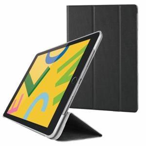 エレコム TB-A19RWVBK iPad 10.2インチ用 フラップケース スリープ対応 ブラック