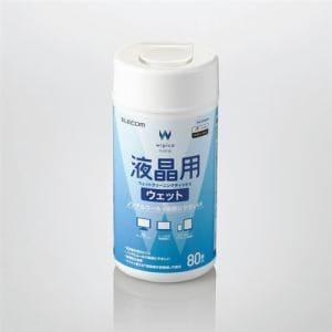 エレコム WC-DP80N4 液晶用ウェットクリーニングティッシュ 80枚
