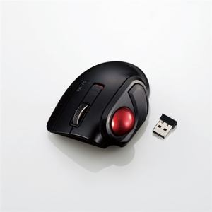 マウス エレコム 無線 ワイヤレス M-MT1DRSBK ワイヤレスモバイルトラックボール(親指操作タイプ)