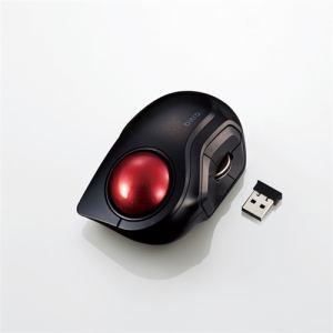 エレコム M-MT2DRSBK ワイヤレスモバイルトラックボール(人差し指操作タイプ)