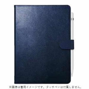 バッファロー BSIPD19102CL2BL iPad 10.2インチ用 2アングルレザーケース ブルー