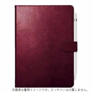 バッファロー BSIPD19102CL2RD iPad 10.2インチ用 2アングルレザーケース レッド