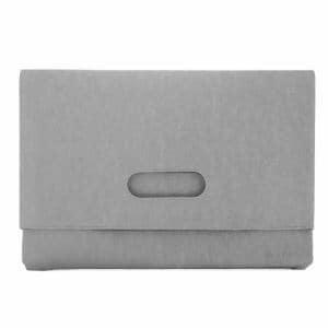 アーキサイト AM-PBCL-LG MOBO Laptop Case CLUTCH クラッチバッグ ノートパソコン タブレット 13.3インチまで PUレザー 合成皮革 ライトグレー
