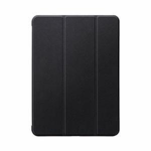 MSソリューションズ iPad_Air(第4世代) ケース CLEAR Note ブラック LP-ITAM20CNTBK