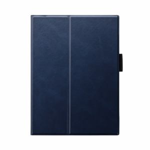 MSソリューションズ iPad_Air(第4世代) ケース PRIME ネイビー LP-ITAM20PLANV