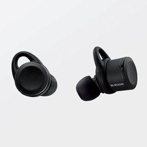 エレコム LBT-TWS01MPBK Bluetooth完全ワイヤレスヘッドホン ブラック