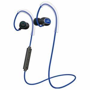 ラディウス HP-S100BTB ワイヤレスイヤホン スポーツタイプ ブルー