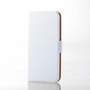 エレコム AVA-T17PLFUWH iPod touch用薄型レザー ホワイト