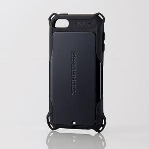 エレコム AVA-T17ZEROBK iPod touch用ZEROSHOCKケース ブラック