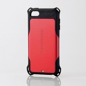 25a76cafed エレコム AVA-T17ZERORD iPod touch用ZEROSHOCKケース レッド | ヤマダ ...