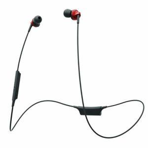 ラディウス HP-N300BTR 高音質Bluetoothイヤホン 「ULTIMATE Solid」 レッド