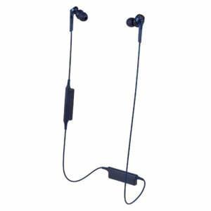 オーディオテクニカ ATH-CKS550XBT-BL Bluetooth対応ワイヤレスヘッドホン 左右一体型 ブルー
