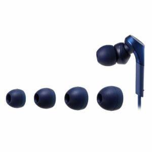 オーディオテクニカ ER-CKS50L-BL 交換用イヤピース Lサイズ ブルー