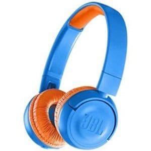 JBL JBLJR300BTUNO キッズ向け Bluetooth ヘッドホン ブルー/オレンジ