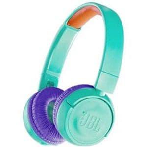 JBL JBLJR300BTTEL キッズ向け Bluetooth ヘッドホン ティール/パープル