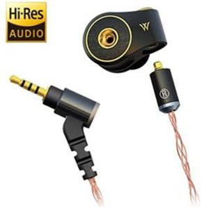 RADIUS HP-TWF32K ハイレゾ音源対応 カナル型イヤホン リケーブル対応 1.2mコード