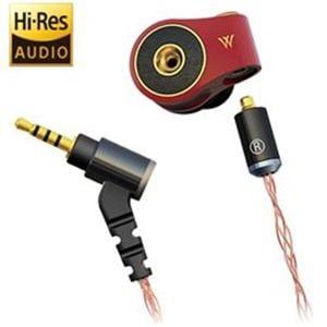 RADIUS HP-TWF42R ハイレゾ音源対応 カナル型イヤホン リケーブル対応 1.2mコード
