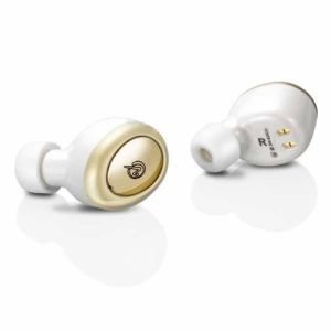 M-SOUNDS MS-TW2WG 超軽量・小型完全ワイヤレスイヤホン ホワイト/ゴールド