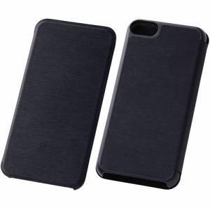 レイ・アウト iPod touch 2012/14/15 スリムレザーケース/ブラック RT-T7SLC1/B