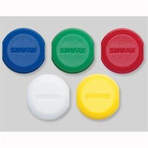 シュア WA621 カラーIDキャップス イエロー/ブルー/レッド/グリーン/ホワイト 5色入り