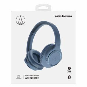 オーディオテクニカ ATH-SR30BT BL ワイヤレスヘッドホン ブルー